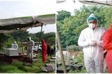 6 Momen pemakaman Rina Gunawan dilakukan dengan protokol kesehatan