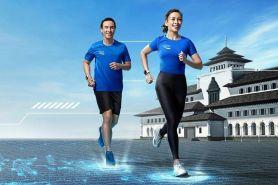 Lomba lari ini digelar di masa pandemi, tetap jaga protokol kesehatan