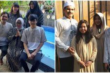 10 Potret kenangan keluarga Rina Gunawan dan Teddy Syach, harmonis