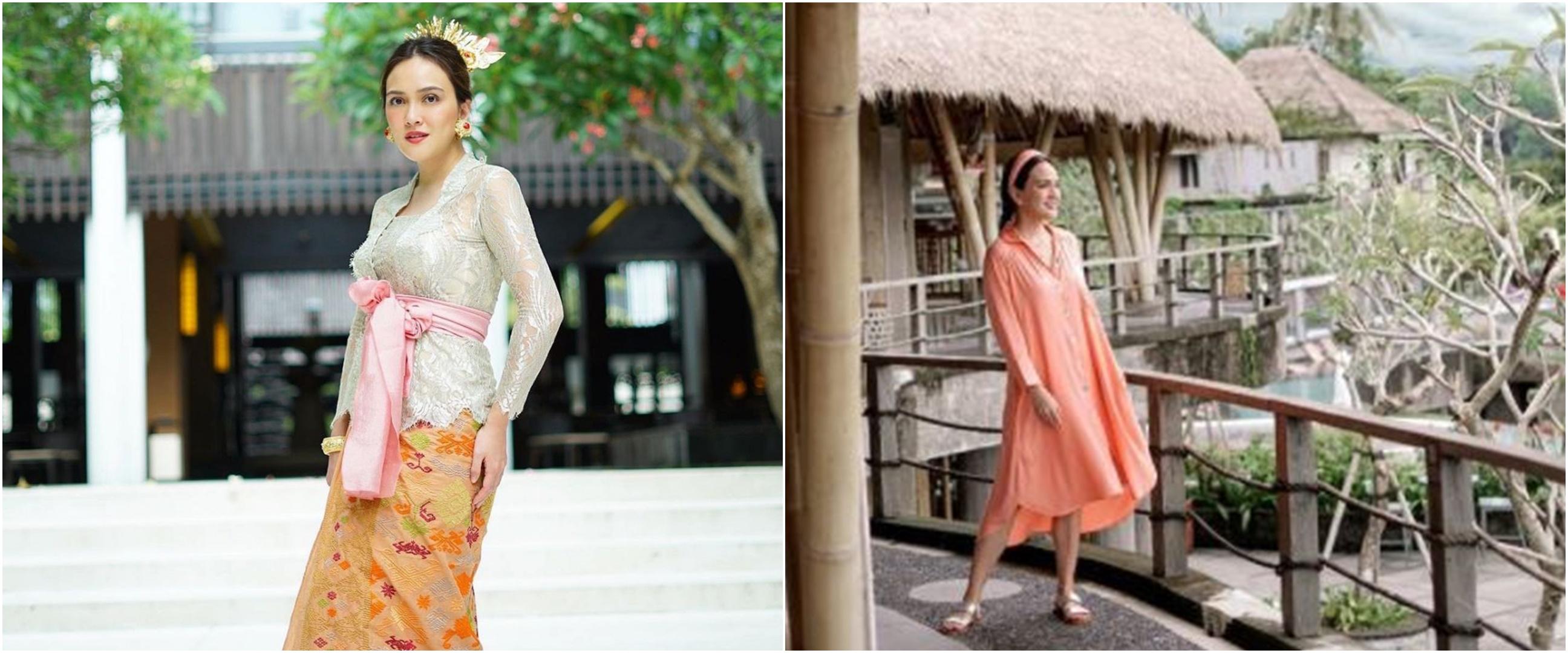 7 Potret kehidupan Shandy Aulia di Bali, serasa liburan tiap hari
