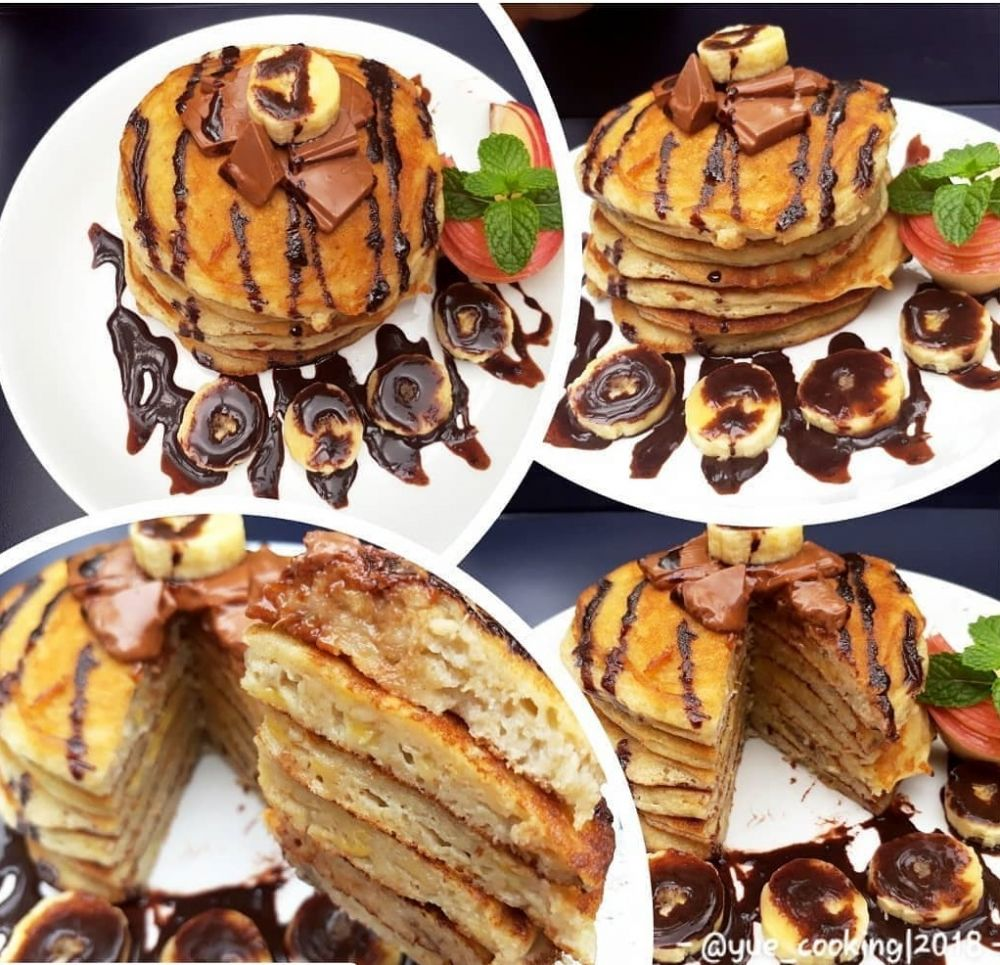 resep kue teflon tanpa mixer ©Instagram