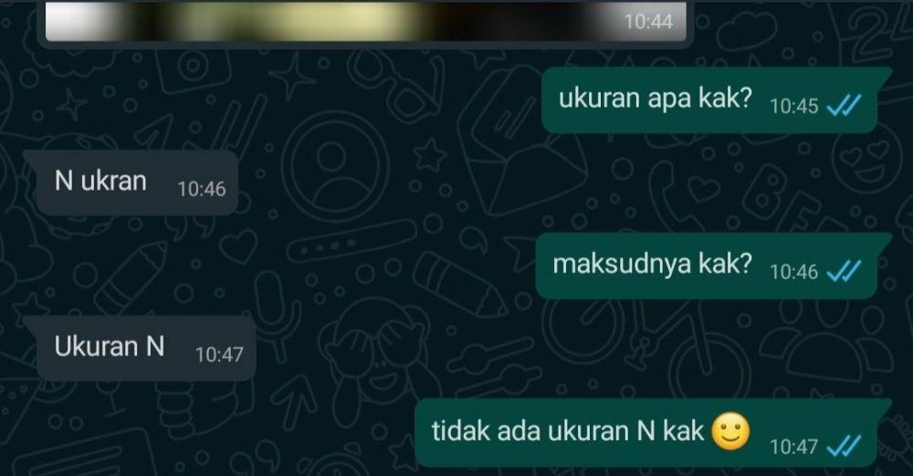 Chat typo customer © Twitter