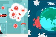 Varian baru virus corona masuk ke Indonesia, begini kronologinya