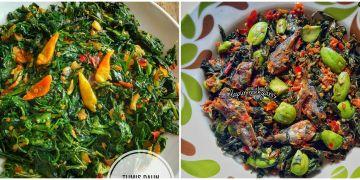 10 Resep tumis daun singkong, sehat, murah, dan super praktis