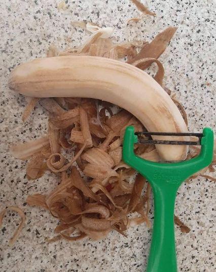 potret lucu pakai alat dapur © 2021 instagram.com