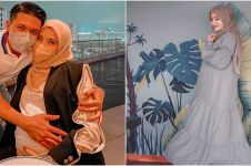 7 Potret Zaskia Sungkar di kehamilan trimester ketiga, makin memesona