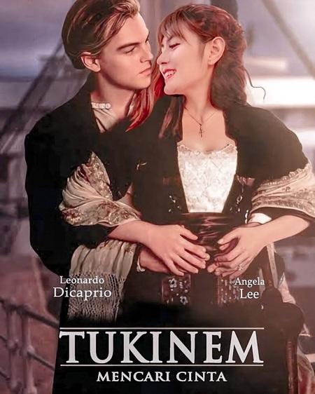 seleb saat tirukan adegan Titanic © 2021 brilio.net