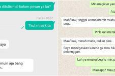 8 Chat lucu di online shop pakai bahasa Inggris, bikin salah paham