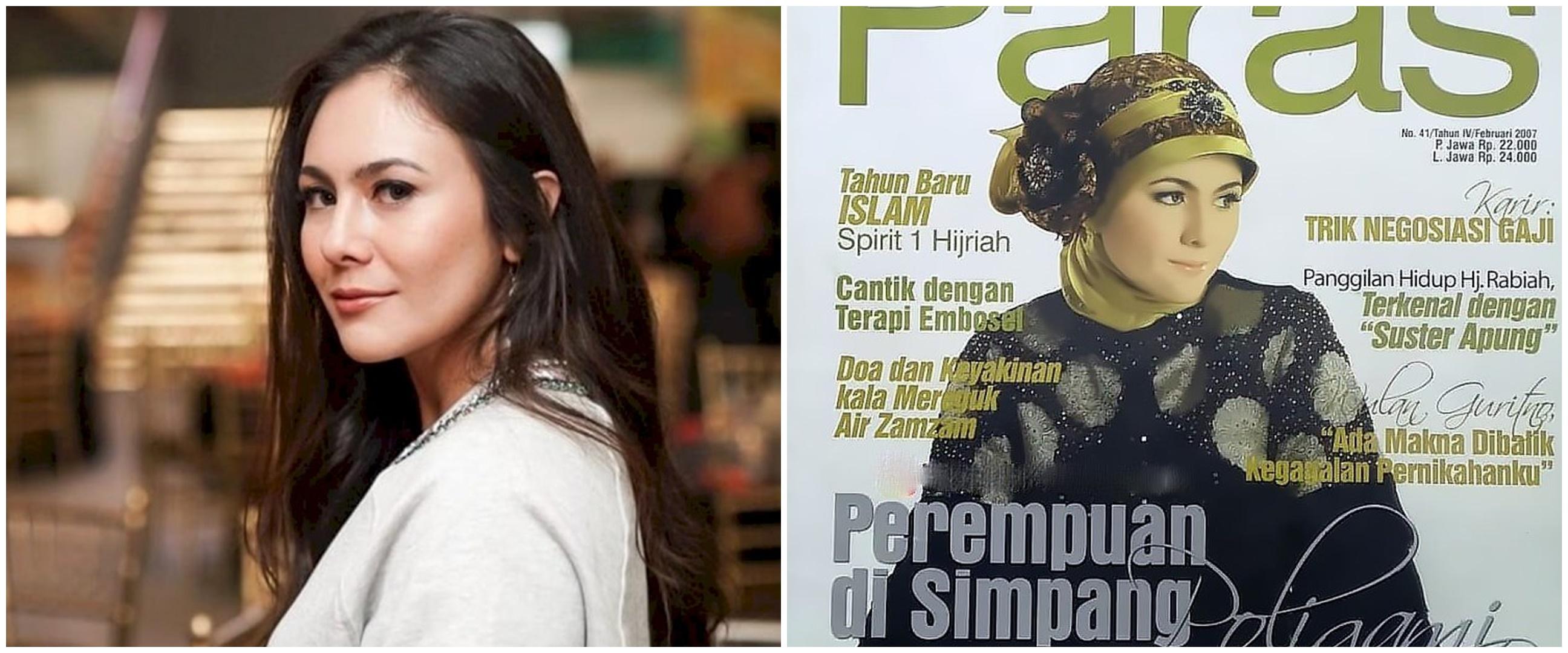 10 Potret lawas Wulan Guritno jadi cover majalah, cantiknya konsisten