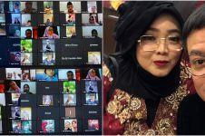 Hedi Yunus dan rekan artis gelar tahlilan online untuk Rina Gunawan