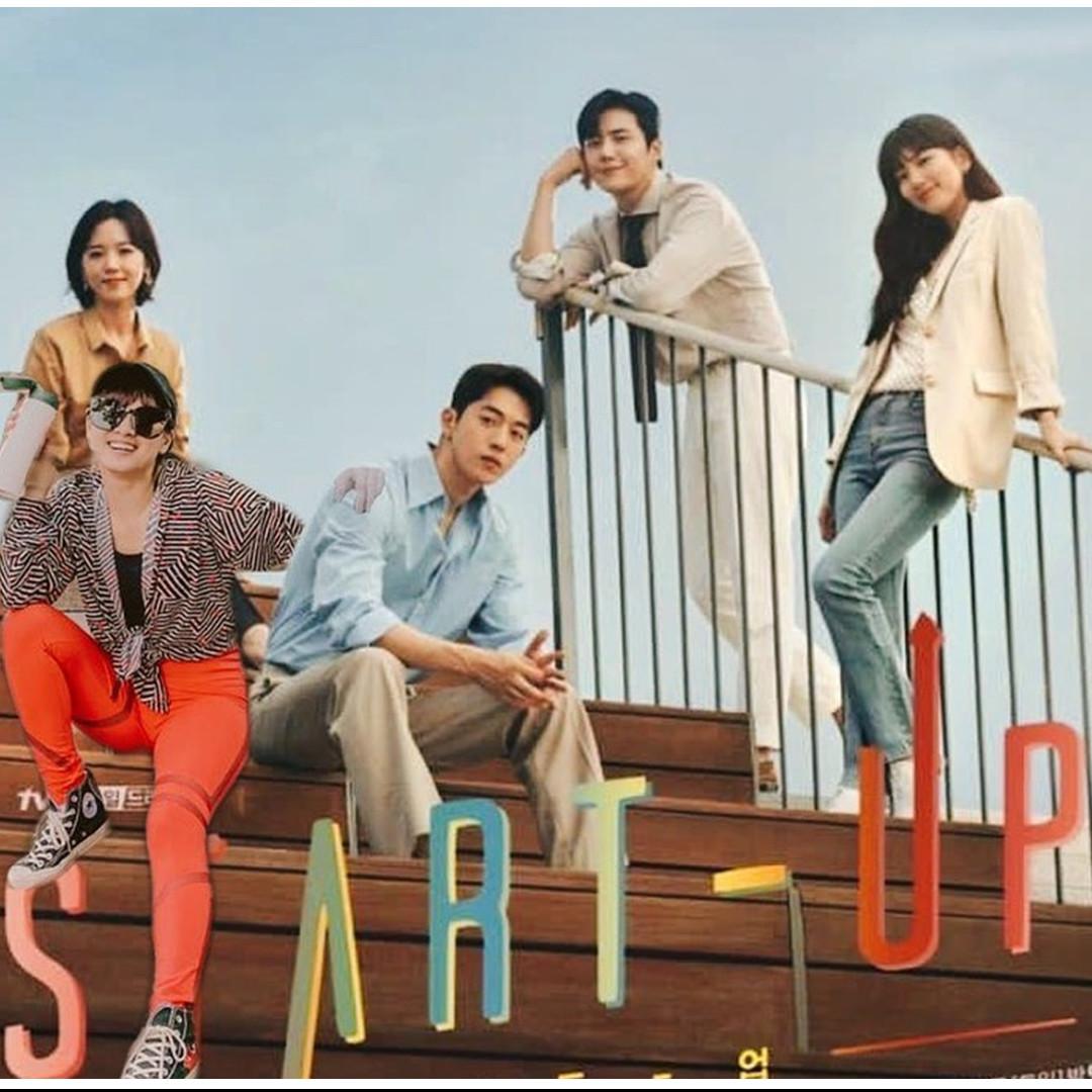 10 Foto editan lucu seleb di poster drama Korea, kocak abis