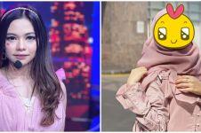 10 Potret Rara LIDA kenakan hijab, memesona dan bikin pangling