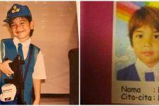 Potret 10 seleb cowok saat masih TK, gayanya bikin gemas