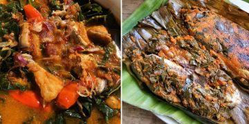 8 Olahan daun singkong dan ikan, cocok untuk menu makan siang