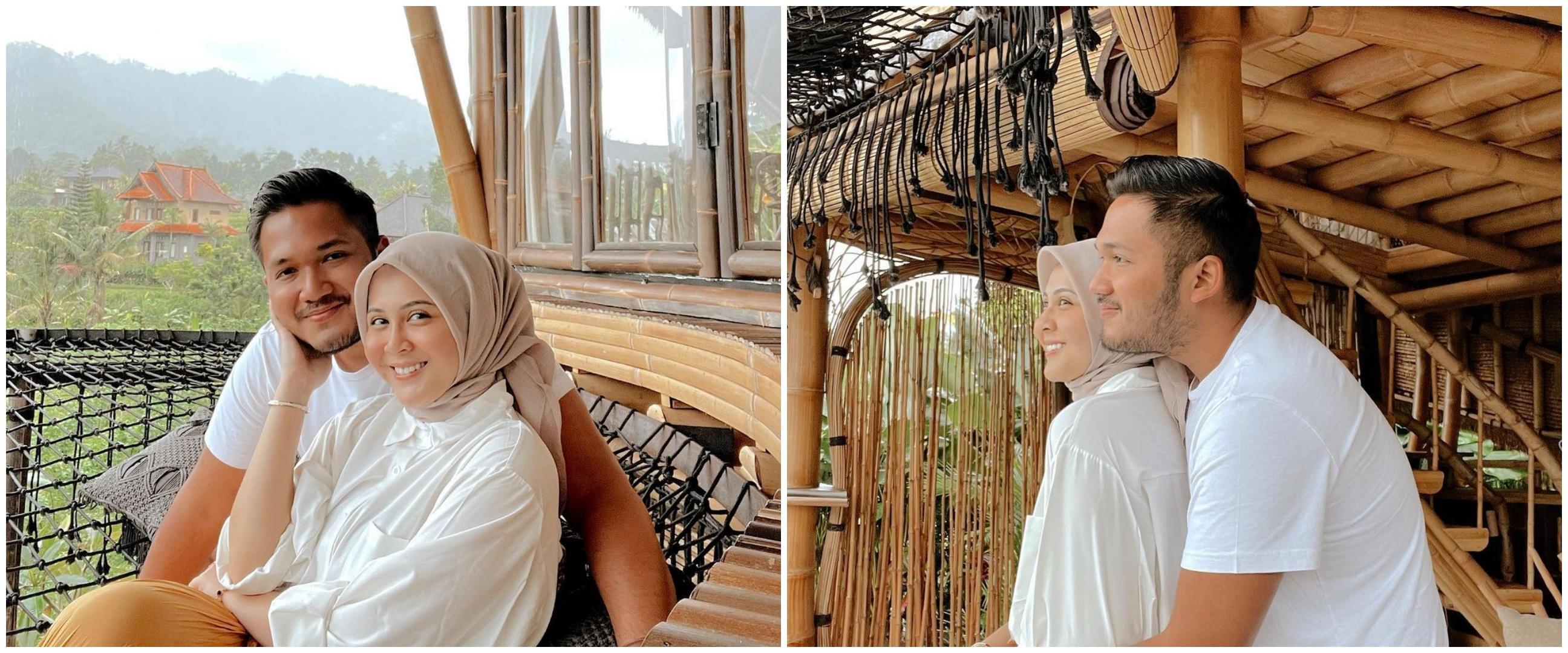 8 Gaya post wedding Kesha Ratuliu & Adhi Permana, simpel tapi so sweet