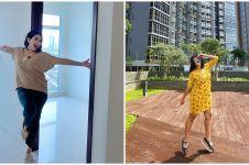 8 Penampakan apartemen milik Feni Rose, viewnya kece