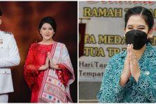 10 Gaya Kahiyang Ayu jadi Ketua PKK Kota Medan, auranya terpancar