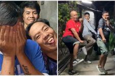 Viral aksi joget TikTok ala bapak-bapak, tetap lincah di usia 55 tahun