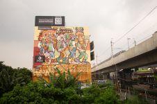 Kampanye bersihkan udara Jakarta lewat street art mural berlanjut