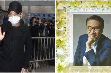 Beri penghormatan terakhir pada Ng Man Tat, Andy Lau jadi sorotan