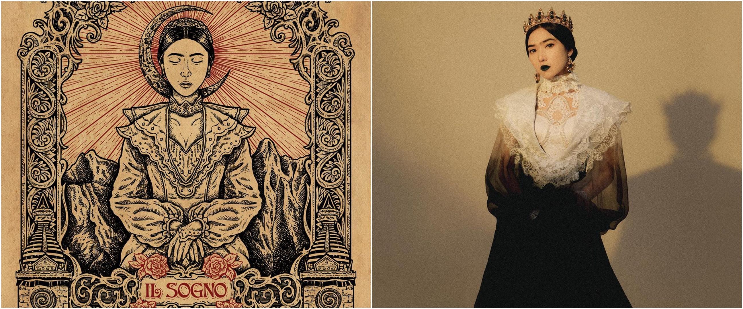 7 Pemotretan Isyana Sarasvati untuk single terbaru, bak ratu Eropa