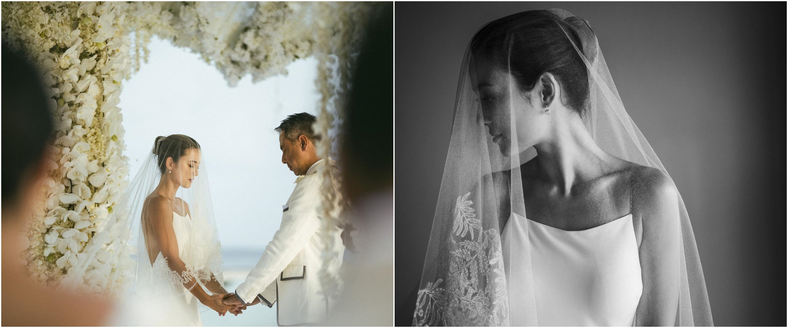 6 Momen pernikahan Julie Estelle, diselenggarakan di Maldives