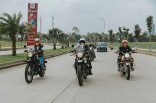 Peringati Hari Perempuan Internasional, 4 perempuan ini riding moge