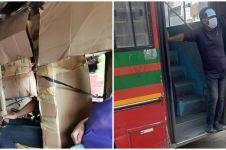 10 Momen lucu di angkutan umum ini bikin senyum-senyum geli