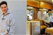 10 Momen Baim Wong beli bus buat jalan-jalan, fasilitasnya keren abis