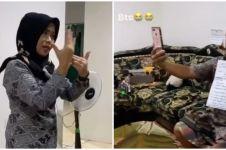 Dibantu suami, cara guru ini mengajar online bikin senyum