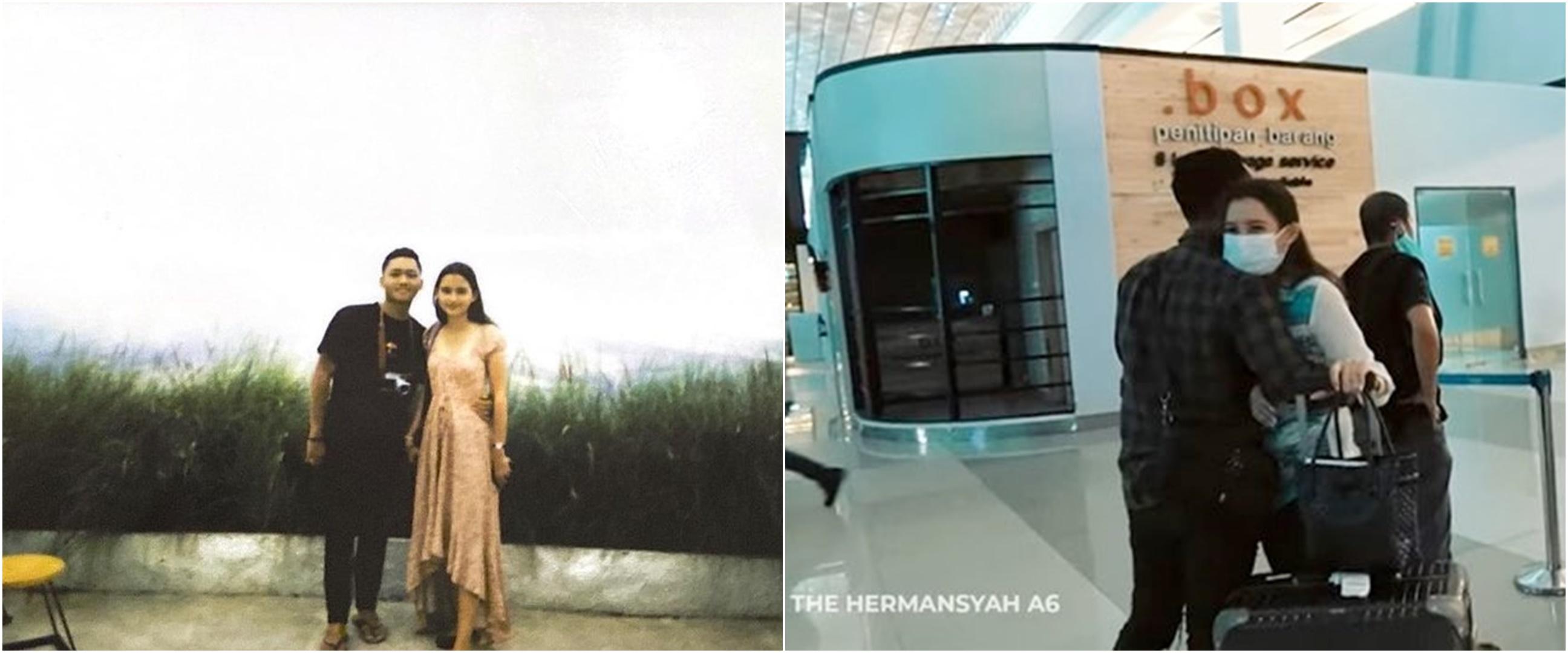 LDR-an, ini 8 momen Azriel Hermansyah bertemu Sarah Menzel di Jakarta