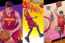 6 Fakta Sangsaka Lima, komik basket digital besutan DBL Indonesia