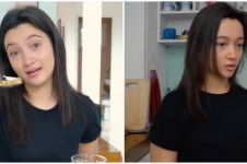 6 Penampakan dapur rumah Megan Domani, wajannya curi perhatian