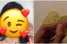 Super kreatif, wanita ini bikin anting dari keripik kentang
