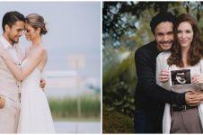 Hamil anak pertama, ini 5 gaya maternity shoot istri Randy Pangalila