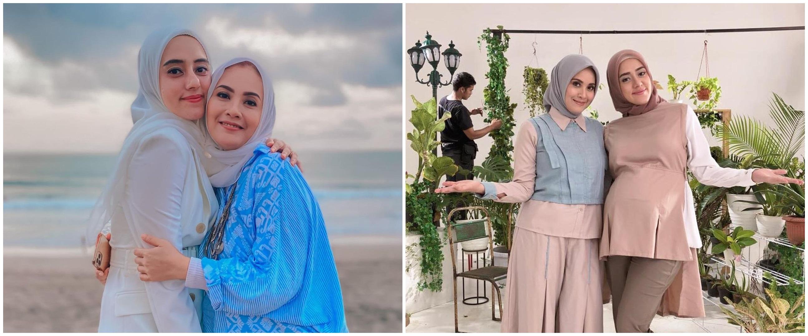 10 Potret kebersamaan Elma Theana dan Fairuz A Rafiq, parasnya mirip