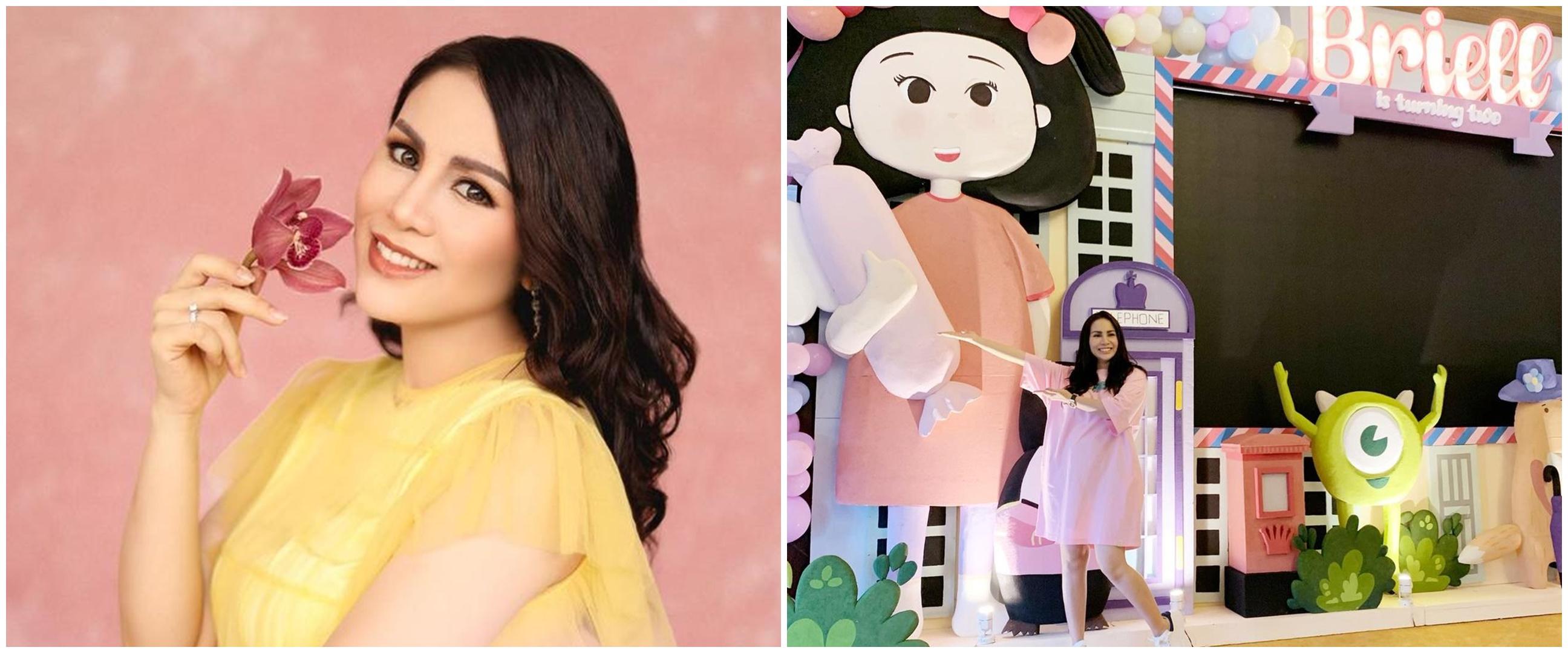 7 Momen ulang tahun ke-2 Briel putri Momo Geisha, dekorasinya unik