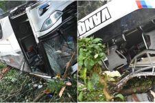 6 Fakta kecelakaan bus maut di Sumedang, tewaskan 29 orang