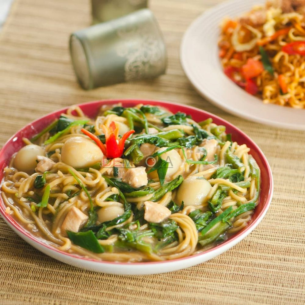 Resep kreasi kangkung dengan berbagai bahan © Instagram