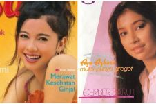 Potret lawas 10 aktris era 80-an & 90-an jadi cover majalah, memesona