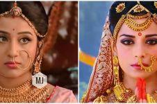 Potret 12 aktris serial Bollywood pakai dan tanpa makeup, bikin kagum