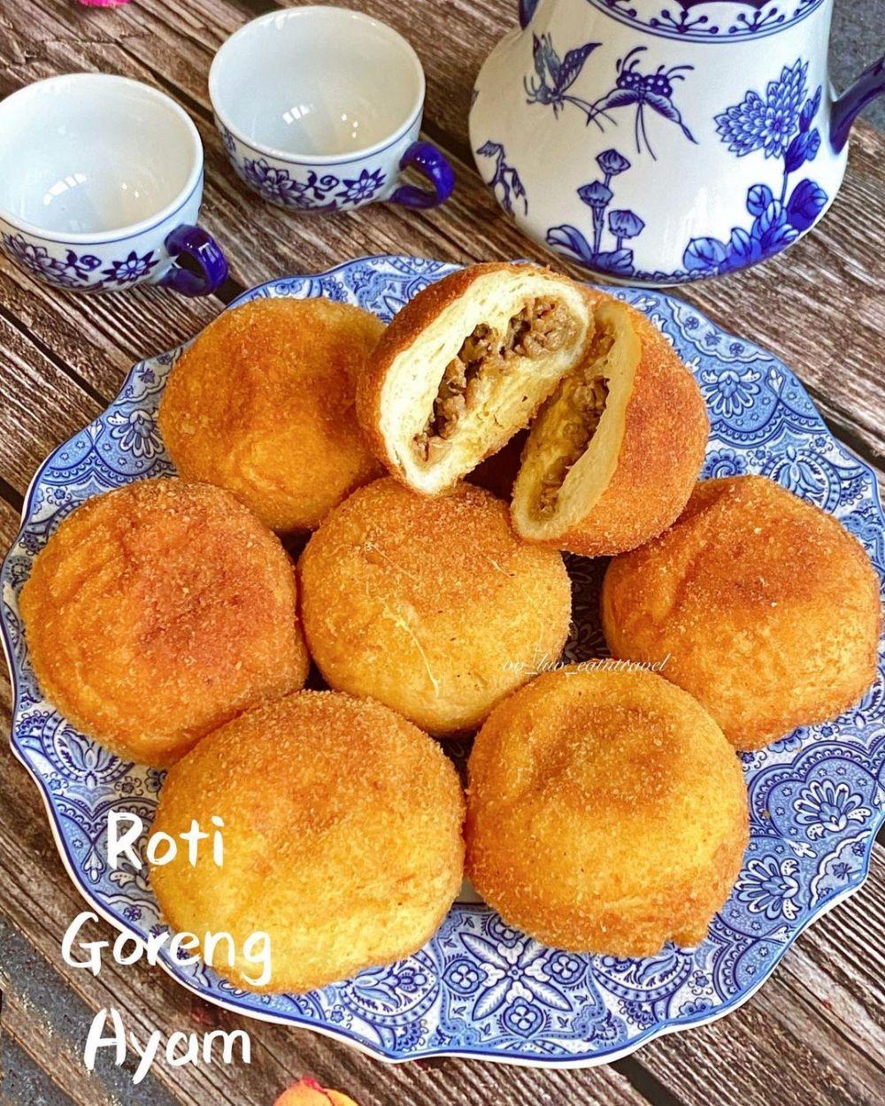 Resep roti goreng antiribet Instagram