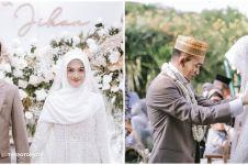 Resmi menikah, ini 10 momen akad Ustaz Syam dan Jihan Ghazali