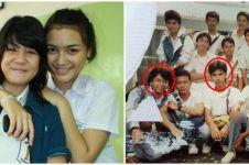 Potret 6 seleb Tanah Air bareng geng pertemanan di SMA, curi perhatian