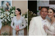 10 Momen pernikahan Kalina Ocktaranny dan Vicky Prasetyo