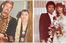Potret lawas orangtua 10 seleb saat menikah, penuh kenangan