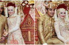Ustaz Riza Muhammad kenang momen pernikahan, 10 potretnya bikin baper