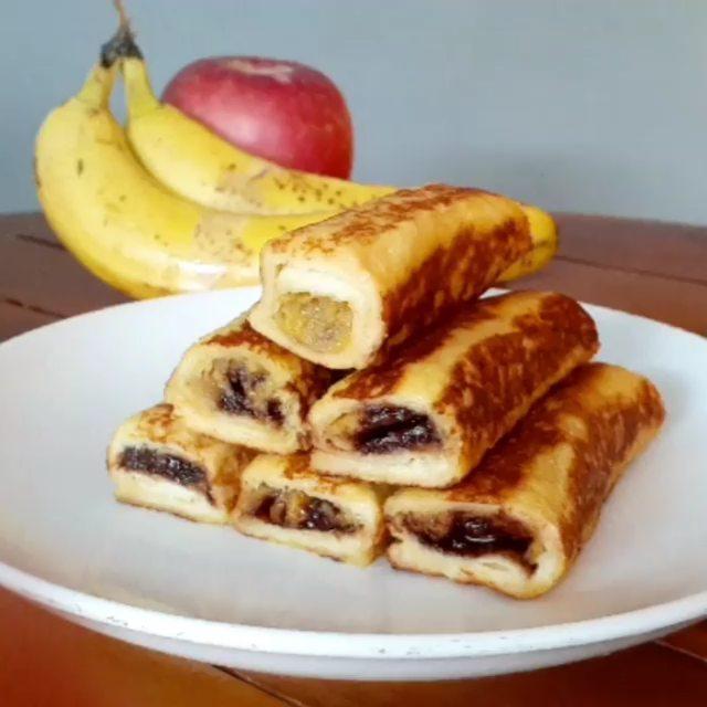 Resep roti pisang ala rumahan © Instagram