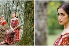 10 Pemotretan Jessica Iskandar pakai baju adat Bali, auranya terpancar