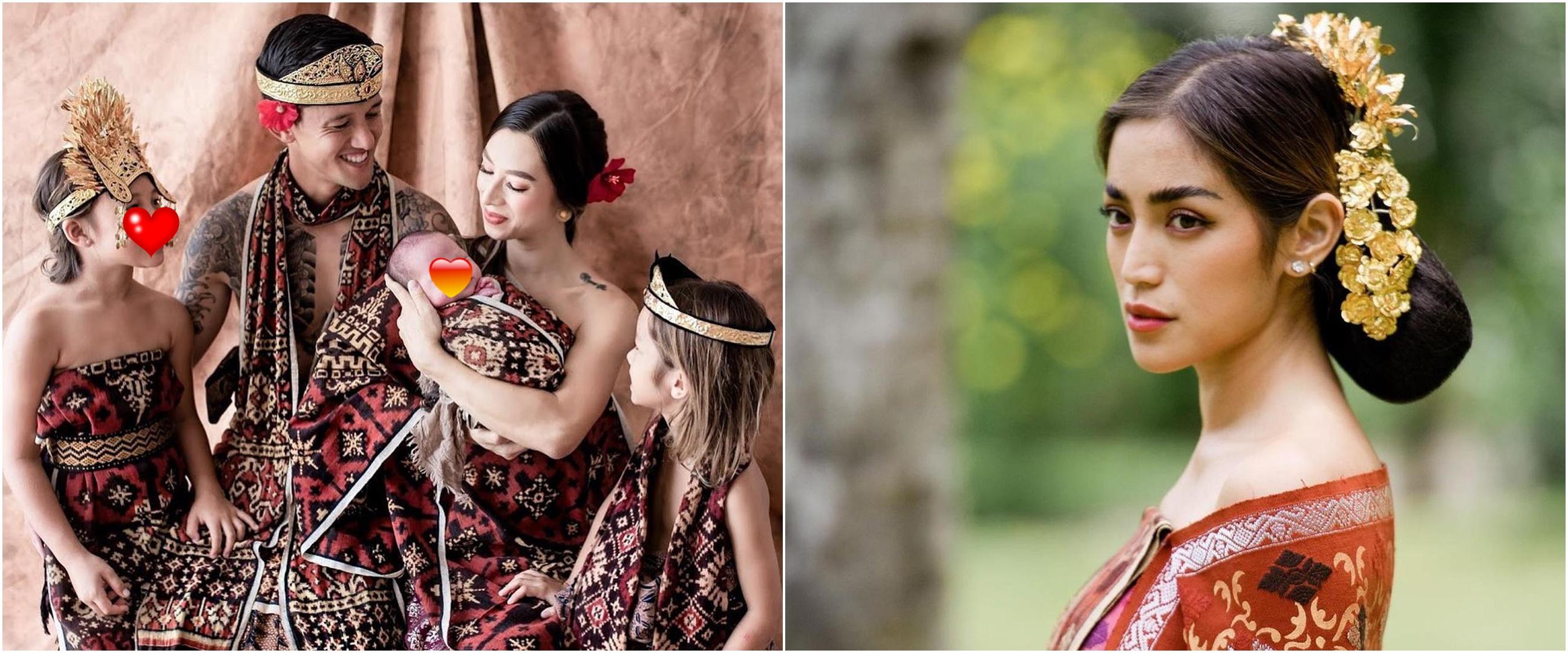 8 Seleb pakai baju adat Bali saat Hari Raya Nyepi 2021, curi perhatian